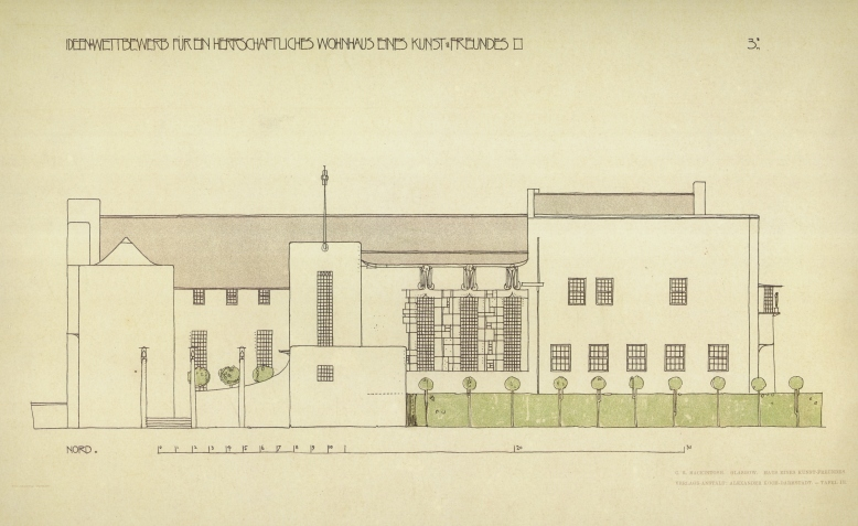 House for an Art Lover 1901 Portfolio (Charles Rennie Mackintosh)