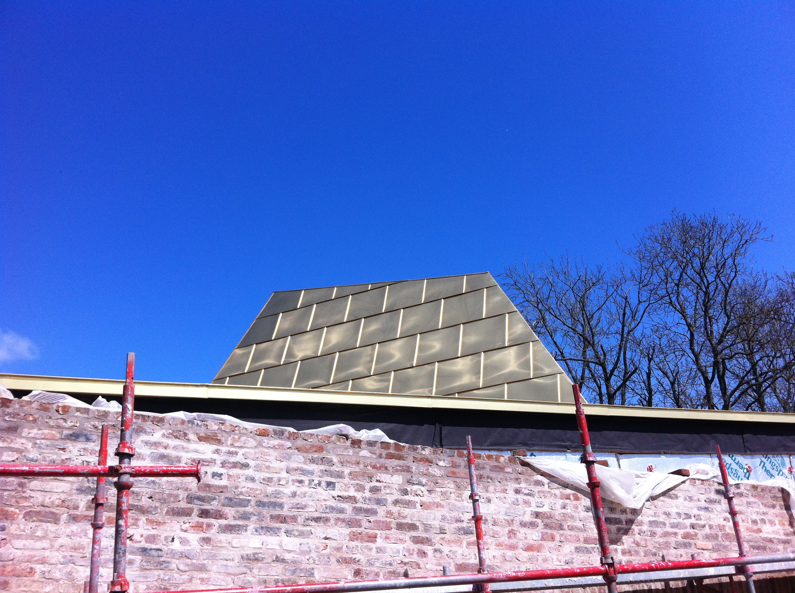 The Pavilion roof